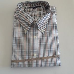 Tommy Hilfiger Casual Button Down Shirt Size 17